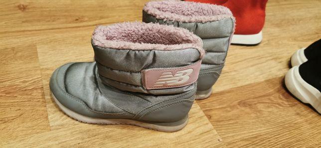 New Balance buty zimowe stan bardzo dobry rozmiar 31