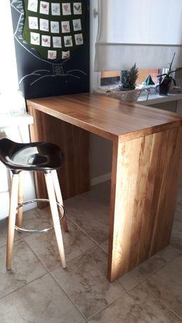 Dębowy stół barowy plus 2 krzesła