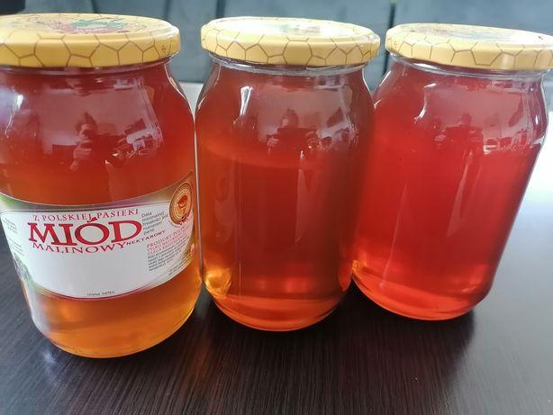 Miód 100% naturalny od pszczelarza prosto z pasieki