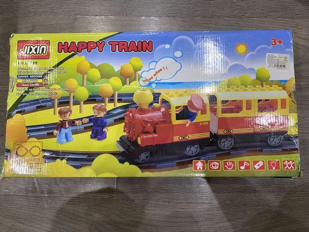 Железная дорога-конструктор Happy Train