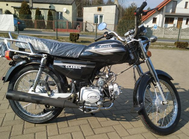 Motorower Ranger Classic 50 cm 3 bez prawa jazdy RATY !! 10 rat 0%
