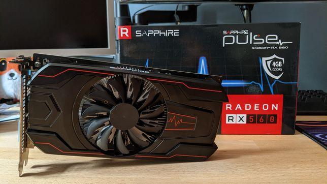 Sapphire RX560 Pulse 4GB