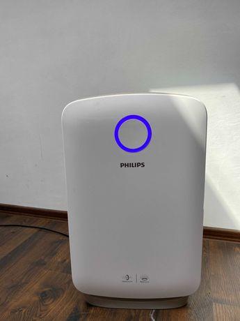 Philips климатический комплекс 2-в-1: очиститель и увлажнитель воздуха