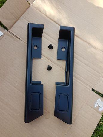zaślepka klamki drzwi prawy tył volvo 945 ,745 czarne