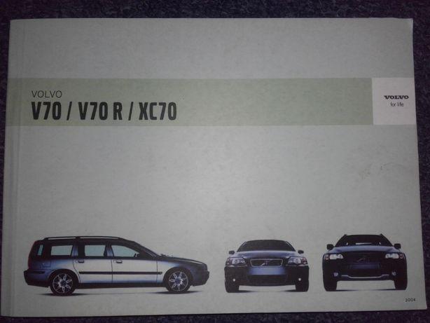 Volvo V70 V70R XC70 instrukcja j.polski