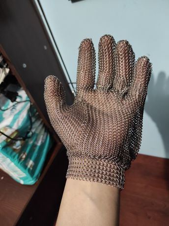 рукавиця з нержавіючої сталі