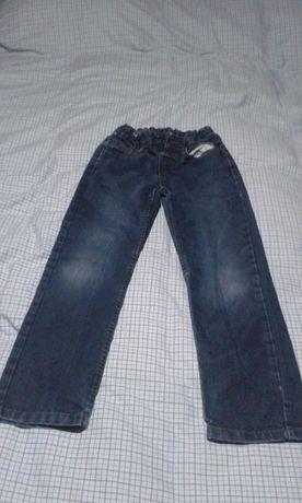 calças de ganga C&A - 7/8 anos