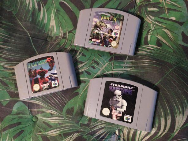 Nintendo 64 Lylat Wars Star Wars Turok zamienię na grę na Switch PS4/5