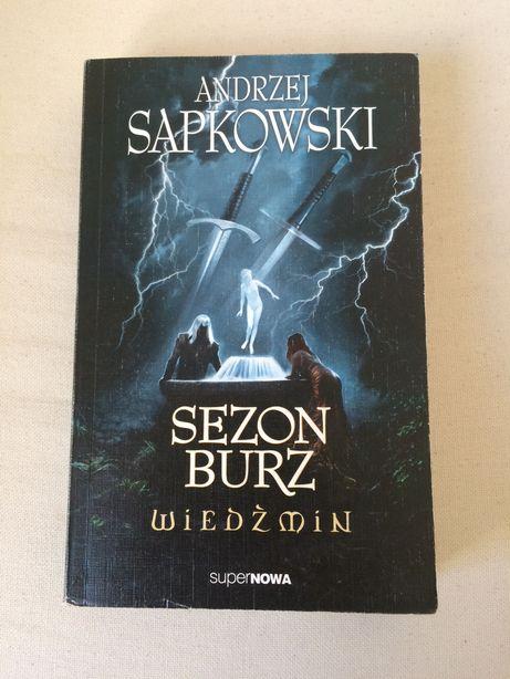 Andrzej Sapkowski Sezon burz Wiedźmin