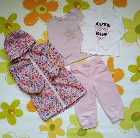 Набор вещей на девочку 92-98