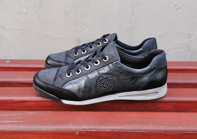 Кожаные кроссовки мокасины Ara 40 р. Оригинал