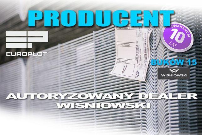 Ogrodzenia panelowe + podmurówka + montaż. wiśniowski 10 lat gwarancji