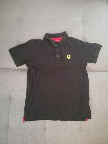 Oryginalna koszulka polo scuderia Ferrari rozmiar 164