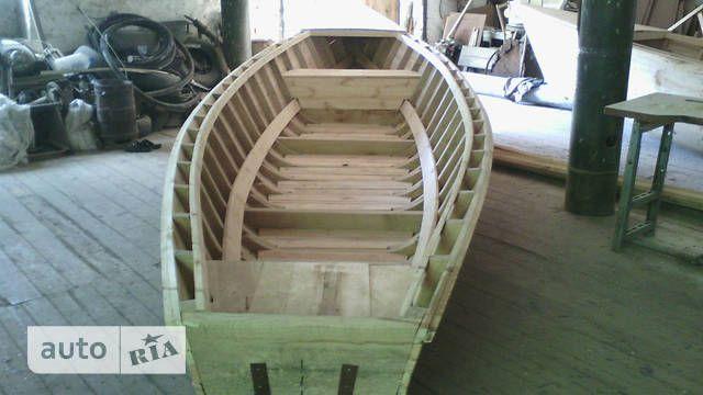 деревянная лодка(промбаркас)