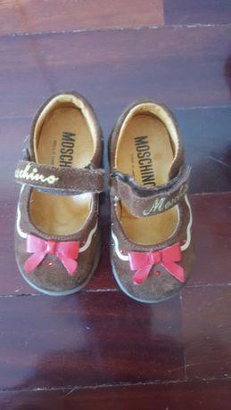 Sapatos Moschino - pouco uso