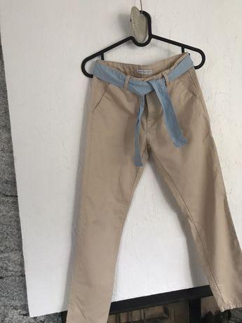 Spodnie chino dziewczęce Reserved r. 146