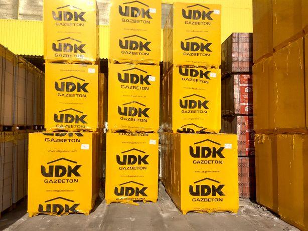 Газоблок ЮДК ( UDK) стеновой, перегородочный