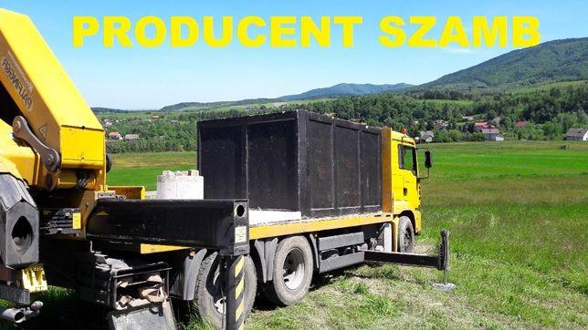 Szamba - zbiorniki betonowe o pojemności 6m3 dwukomorowe z Aprobatą