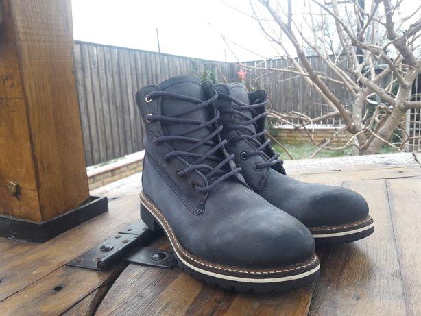 Ботинки зима кожа как Timberland CAT Terranova