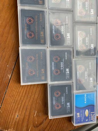 Cassetes DDS tambem funcionam como DAT, depende do equipamento!