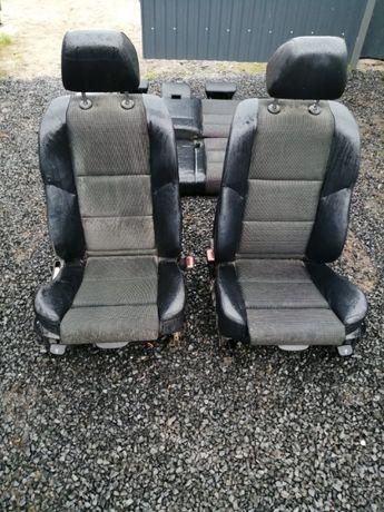 Fotele BMW E60 m pakiet, sport, półskóry