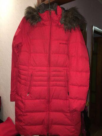 Пальто куртка пуховик Colombia размер 48