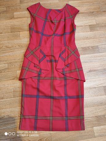 Elegancka sukienka z baskinką