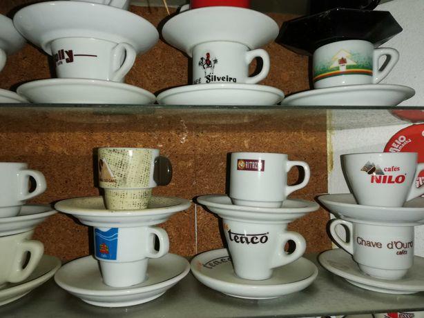 Chávenas de café - colecção
