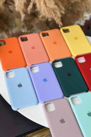 Etui Silicone case iphone 11 12 Xs Xr 7 8 plus + pro, pro max, mini,SE