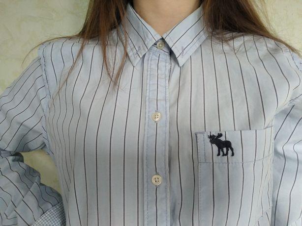 Рубашка женская мужская  Abercrombie &Fitch