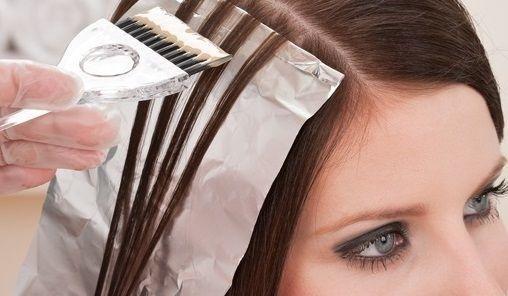 Мелирование, полировка волос