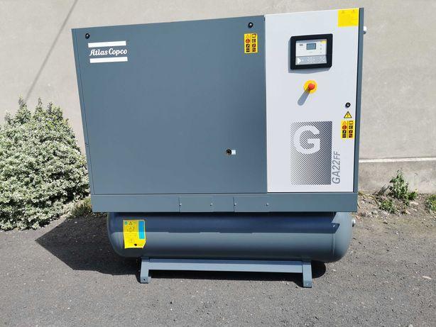 2015 Sprężarka śrubowa 3500l/min ATLAS COPCO kompresor 22kw OSUSZACZ!