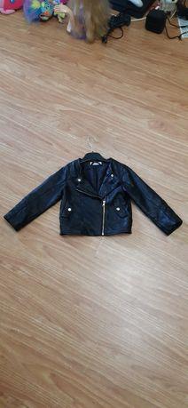 Куртка курточка косуха детская кожанка H&M 3-4г. одежда для девочек