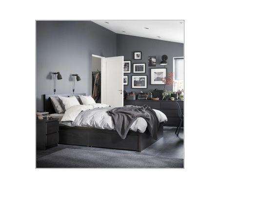 Łóżko malm Ikea 160x200 cm nowe