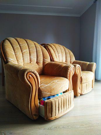 Komplet wypoczynkowy wersalka fotele