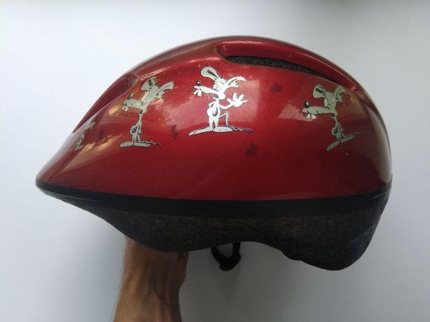 Детский шлем, размер 52-56см, велосипедный, для роликов.