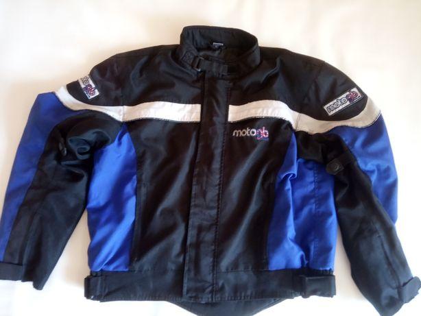 мото куртка текстиль,полная защита