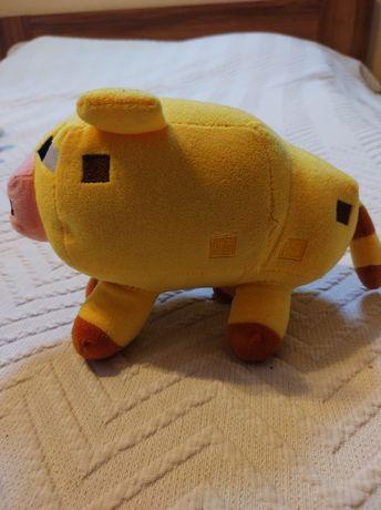 Maskotka Świnki z Minecraft 22cm