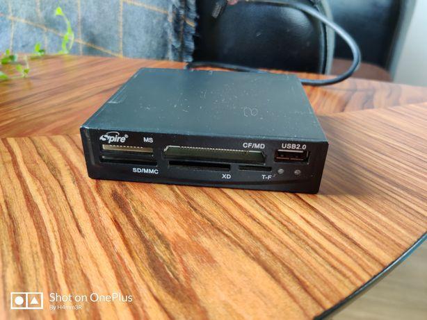 Wewnętrzny czytnik kart pamięci USB 2.0