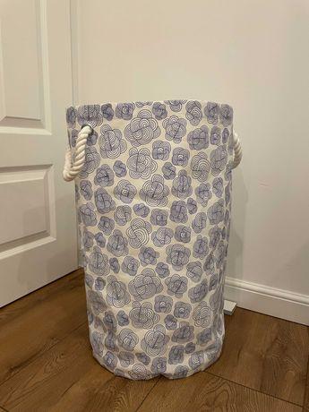 Kosz torba na pranie IKEA Klunka biały