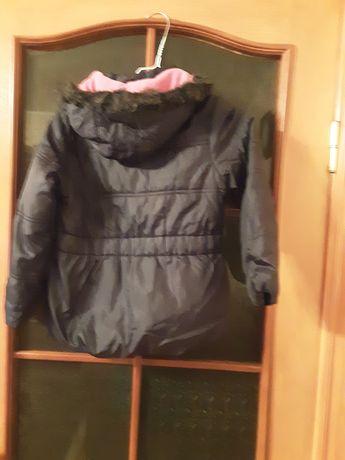 Курточка на синтопоне для девочки  5-6 лкт.