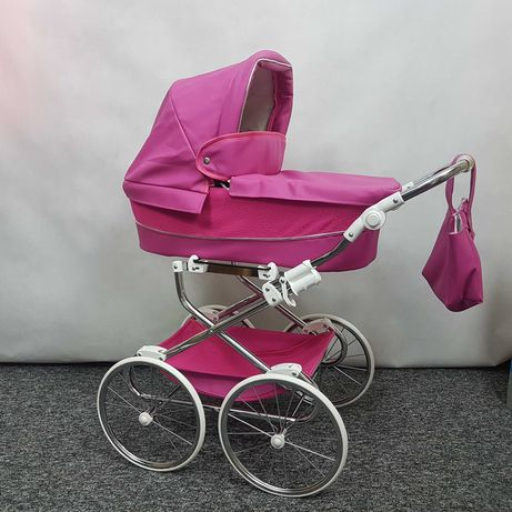 Wózek dla lalek retro kilka kolorów HIT najwyższa jakość SZKRAB WITA