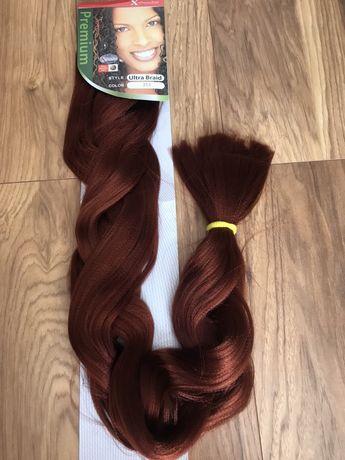 Sztuczne włosy rude