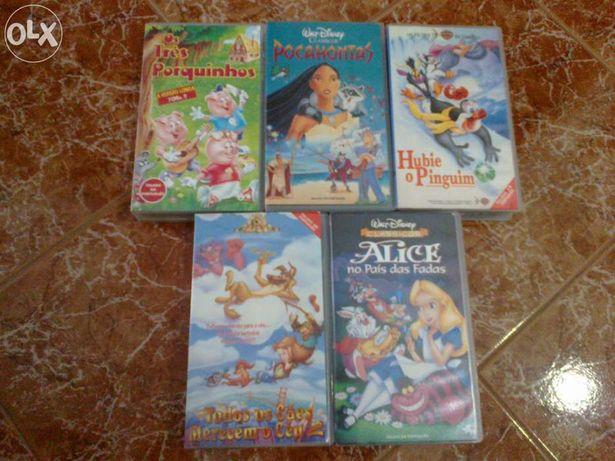 Filmes infantis em VHS