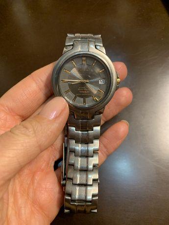 Продам часы Seiko titanium kinetic , часы Seiko