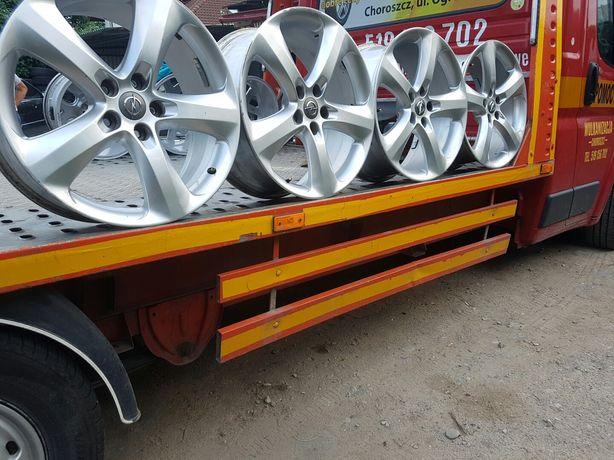 Felgi Aluminiowe Opel Astra J-K-Zafira-R19 5x115 ET46 8J
