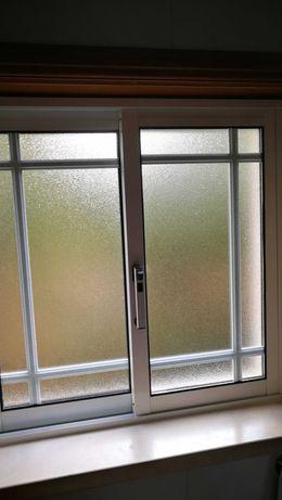 Janelas e portas em alumínio com vidro duplo