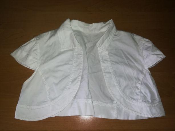 Bolerko białe do sukienki