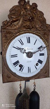 "Коллекционные Винтажные Часы "" A.Moreau  áLisle "" с Маятником Арфы"