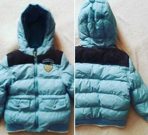 Зимняя курточка на мальчика 2 - 2,5 года в идеальном состоянии!